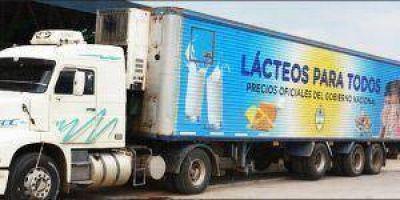 """Llega camión de """"Lácteos para Todos"""""""