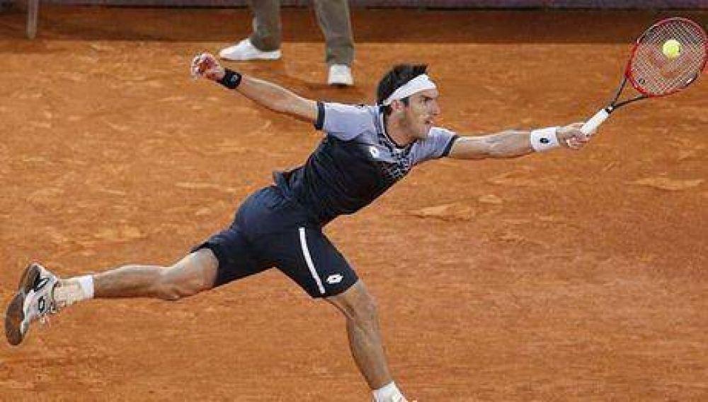 El correntino Leo Mayer debutó con triunfo en el Masters 1000 de Roma