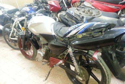 Allanamientos en Santa Rosa: secuestran varias motos