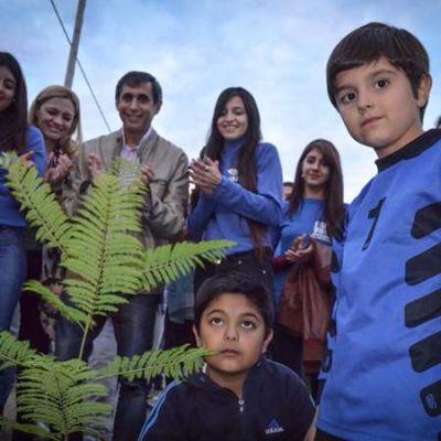 Paredes Urquiza lanzó importante plan de forestación en la ciudad