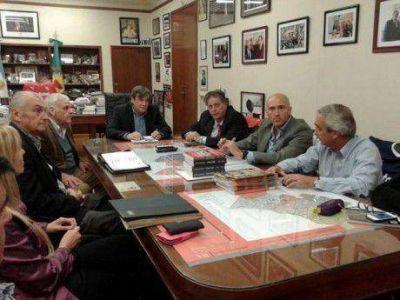 Intendentes del CODENOBA se reunieron con el ministro de Salud de Buenos Aires