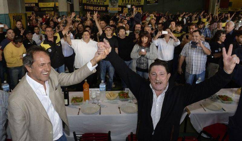 Taxistas porteños dieron su apoyo a Scioli