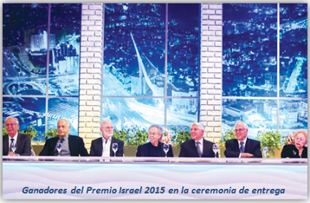 Dos profesores de la UHJ recibieron el Premio Israel 2015