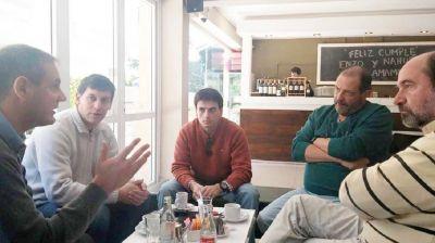 Precandidatos radicales de la región, reunidos en Pinamar
