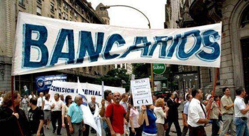 La Bancaria irá a paro nacional por 24 horas