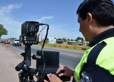 Multas digitales: en dos semanas registraron 174 infracciones en las rutas