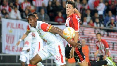 Con ventaja mínima y un gol en contra, Estudiantes va por el boleto a Cuartos en Colombia contra Independiente Santa Fe