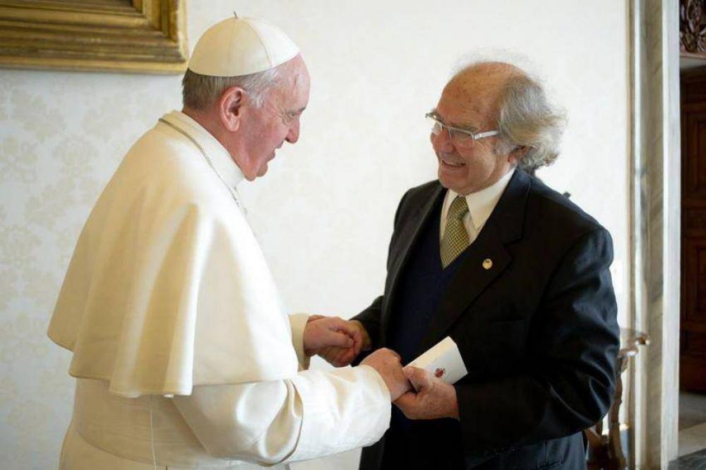 Francisco recibió al Nobel de la Paz Adolfo Pérez Esquivel