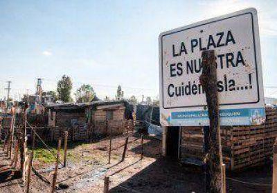 Ya se venden a $5 mil los terrenos tomados en el barrio Hibepa