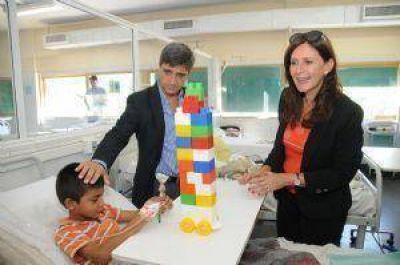 Desnutrición: Manzur, Mirkin y Rojkés apoyaron a Yedlin