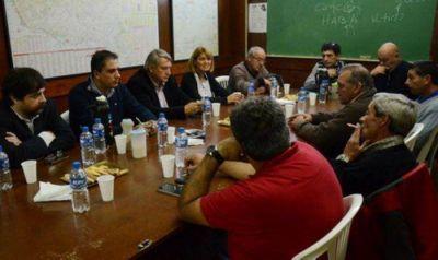 Senadores del Frente Renovador recorrieron Mar del Plata