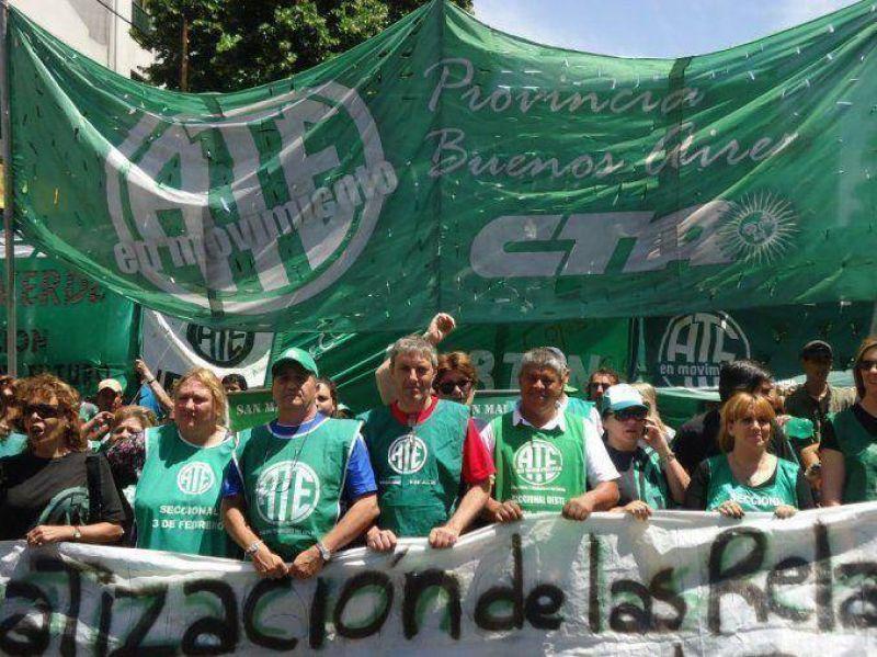 Los estatales bonaerenses paran en reclamo de reapertura de las paritarias