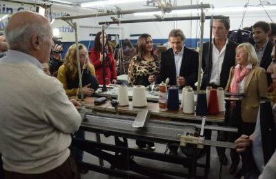 El Intendente reabrió la Escuela de Capacitación de la Cámara Textil