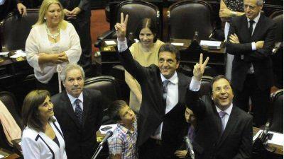 El massismo pierde diputados y el PRO quedaría como segunda fuerza opositora