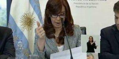 """CFK destacó a provincias como Formosa que """"supieron administrar y se desendeudaron"""","""