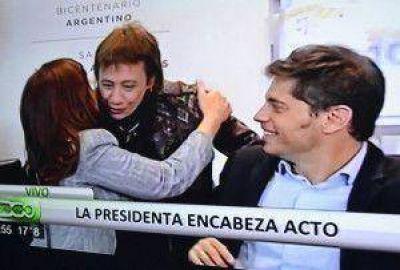 Cristina firmó la refinanciación de deuda pública con Fabiana Ríos y otros 16 gobernadores