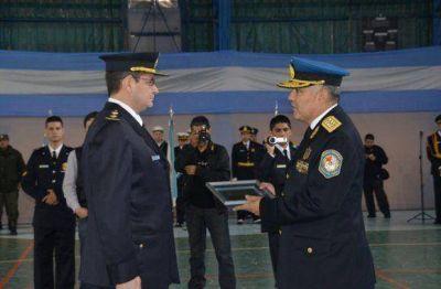 Se realizaron actos en forma simultánea en la provincia por el aniversario de la Policía