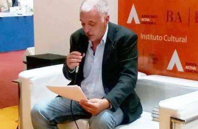 Miguel Gargiulo disertó sobre derechos humanos en la Feria del Libro