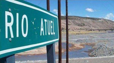En Mendoza anuncian una inversión de 50 millones para recuperar caudales del río Atuel