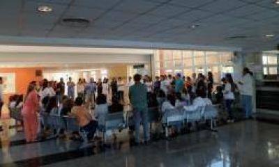Arrancó paro médico de 72 horas en hospitales y centros de salud