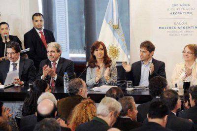 Cristina Kirchner volvió a hablar por cadena nacional