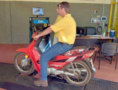 Sólo el 2% de las motos registradas realizó la Verificación Técnica