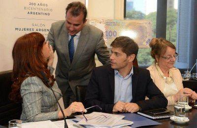 Mendoza firmó el desendeudamiento
