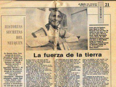 Lucy Cantero, la de tierra y animales para todos