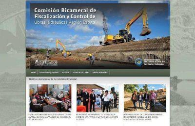 Presentan sitio web que reúne información sobre el avance de las obras hidráulicas
