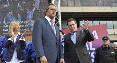 Tras la foto con Randazzo, ahora Scioli se muestra con Díaz Pérez