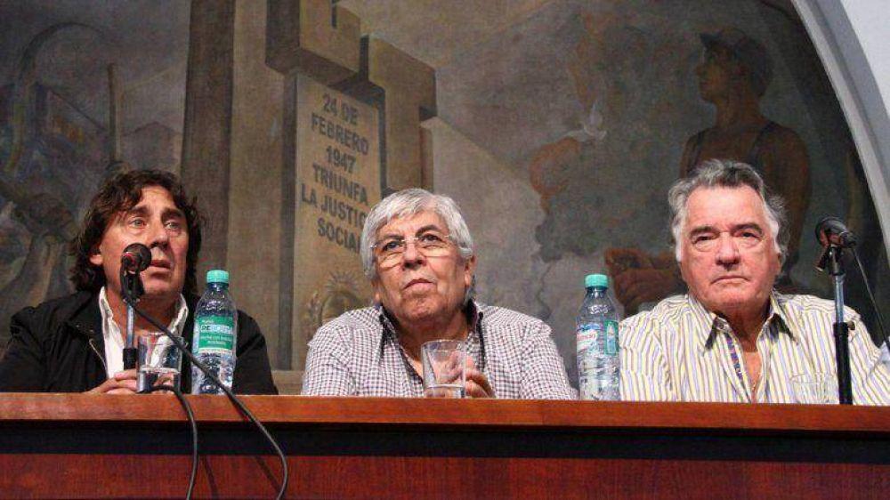 Luis Barrionuevo anunció un paro nacional de 36 horas con movilización junto a Moyano y Micheli