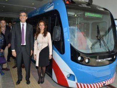 Habilitaron la estación Santiago Centro del Tren del Desarrollo