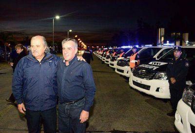 El Municipio de Malvinas Argentinas recibió 22 patrulleros para el CPC