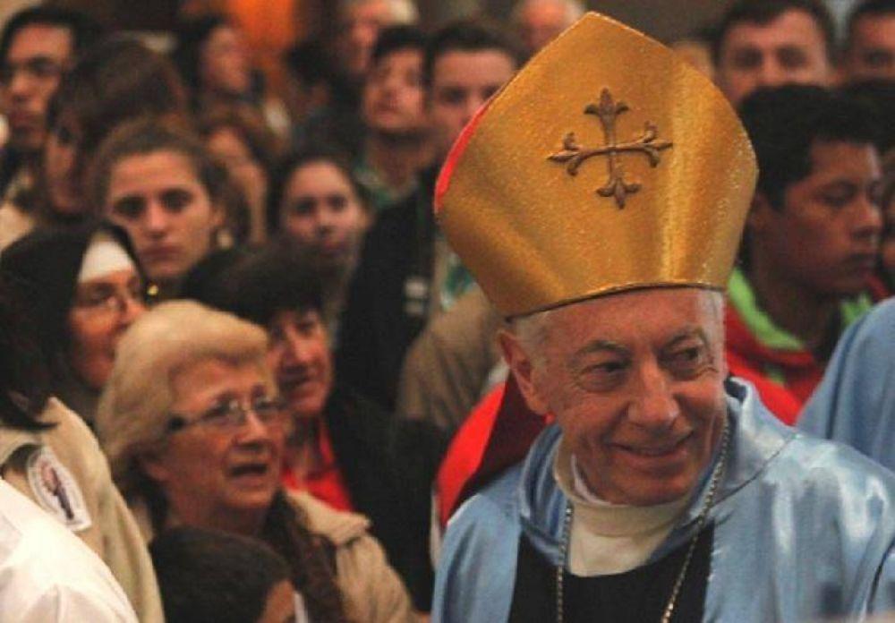 Mons. Aguer pidió en Luján no escandalizar a los niños