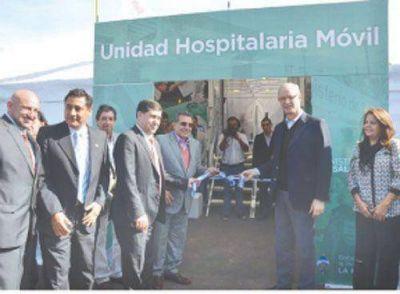 Nación y Provincia inauguraron la Unidad Hospitalaria Móvil