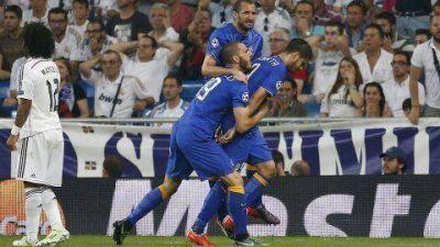 Juventus igualó ante Real Madrid y llegó a la final de la Champions League