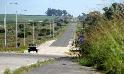 Vialidad Nacional reconstruye el terraplén de rutas 14 y 20