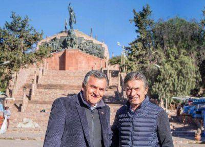 Morales y Macri destacaron la potencialidad de la producción regional