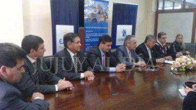 """Aversano: """"la planta Jujuy Centro hay que hacerla si o si para asegurar el servicio en San Salvador de Jujuy"""""""