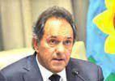 Daniel Scioli estaría en Junín el 5 de junio en un acto masivo, en plena campaña