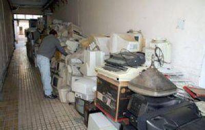 Comenzó la recolección de residuos electrónicos