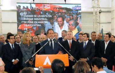 Scioli: La industrialización llegó para quedarse