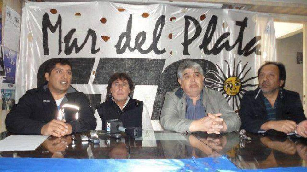 Micheli anunció en Mar del Plata el paro nacional de 36 horas