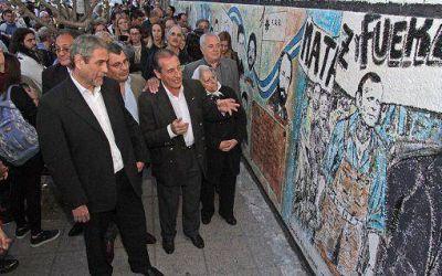 """Avellaneda: Se inauguró el mural """"60 Años de Triunfos Populares y Terrorismo de Estado"""""""