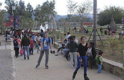 El Parque del Bicentenario se viste de fin de semana