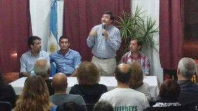 López participó en charla de desarrollo social con Daniel Arroyo en Miramar