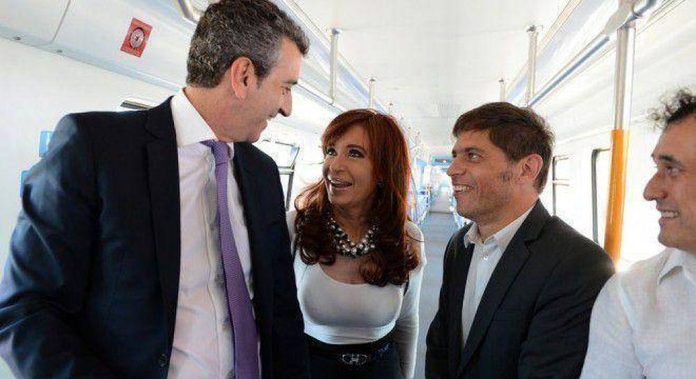 Cristina le hará otro guiño a Randazzo con un acto masivo por la reestatización ferroviaria
