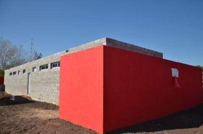 Luján inauguró sus nuevos vestuarios en el predio del barrio San Emilio
