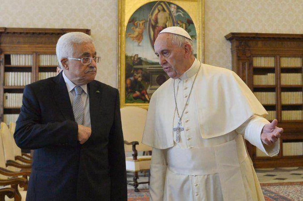 El Papa recibió a Mahmud Abbas, tras el reconocimiento de Palestina
