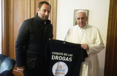 La Iglesia reconoció la labor del padre Molina en la Sedronar